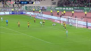 Παναθηναϊκός - ΑΕΚ: 3-2