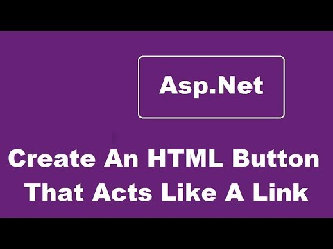 Create An HTML Button That Acts Like A Link