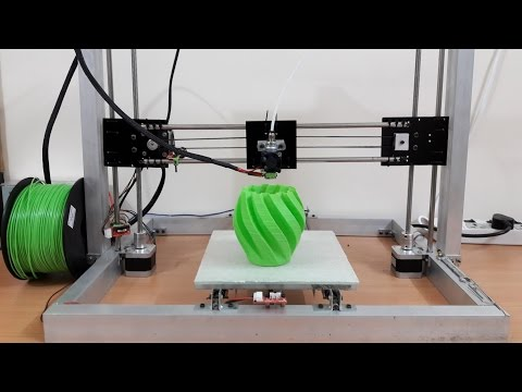 DIY Arduino 3D Printer Scratch Build