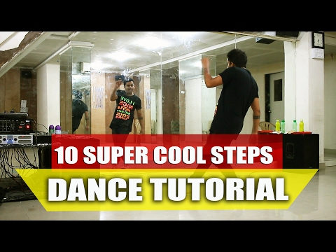 10 Simple Super Cool Dance Moves For Beginners || Dance Tutorial || Footsteps || Part 1