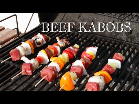 How to Make Beef Kebabs - Easy Steak Kabobs Recipe