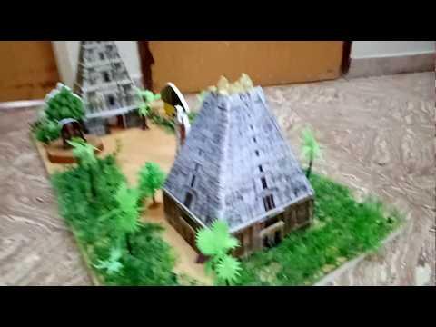 School Project - Temple Model (www.schoolprojectcenter.in)