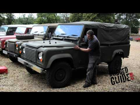 Military Land Rover Defender Buying Guide