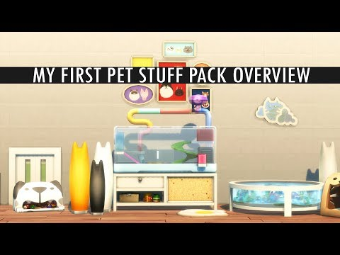 MY FIRST PET STUFF: My first impression (The Sims 4)