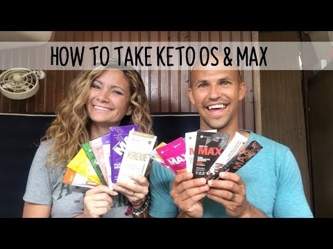 How to use Keto OS and Max