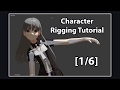 [1/6] Complete Character Rigging Guide (w/ Hair Physics) - Blender Tutorial