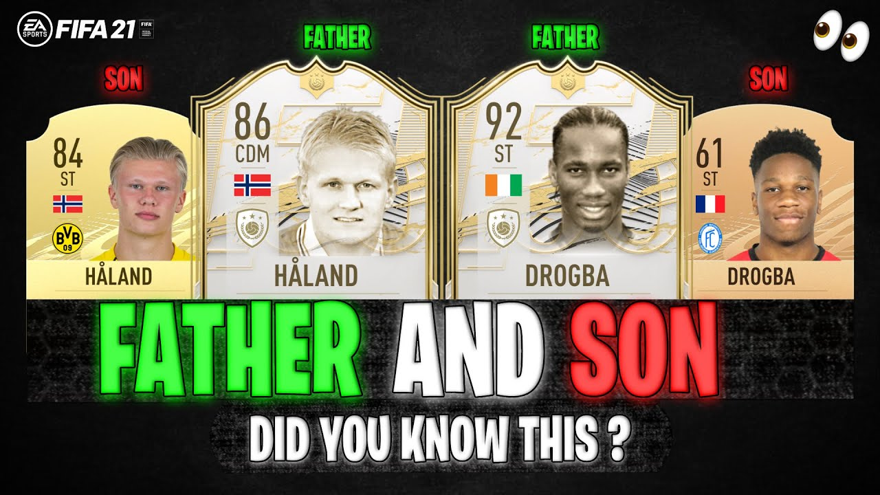 Footballers FATHER and SON! 👨👦🔥 | FT. DROGBA, HÅLAND, CHIESA... etc