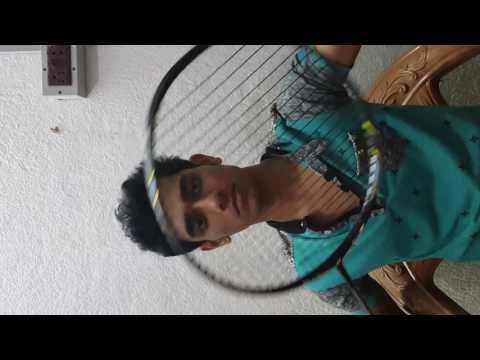 Badminton string cutting
