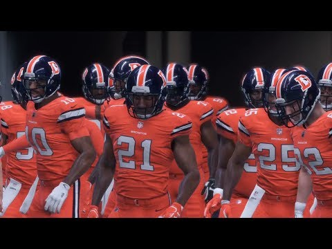 NFL Thursday Night Football 12/14 - Denver Broncos vs Indianapolis Colts - TNF NFL Game (Madden 18)