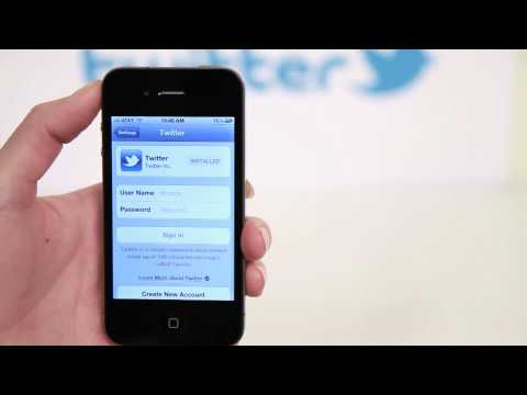 How to remove your account from Twitter for iPhone