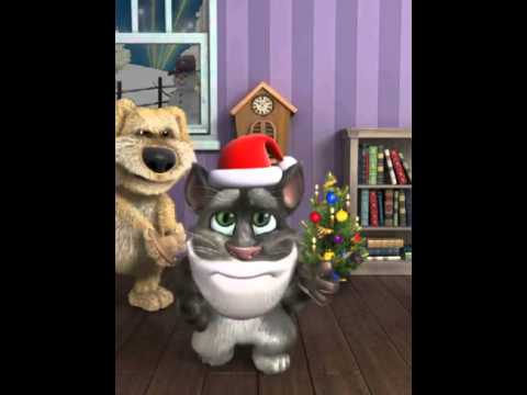 Talking Tom wishes you a very Merry Christmas!