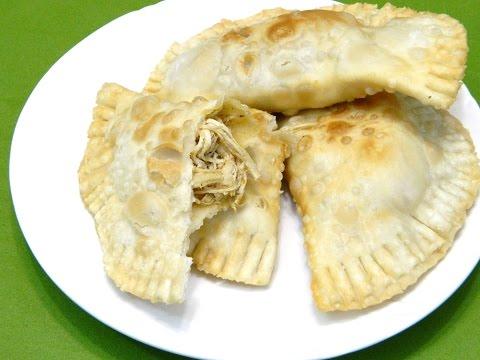 Empanadillas de Pollo Boricuas ( Empanadas, pastelillos)