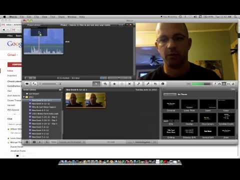Imovie 11 How to put text over a movie