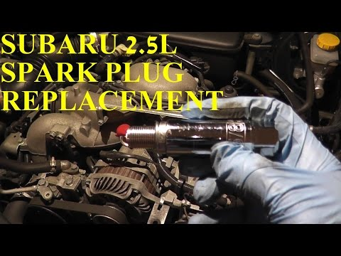How To Install Replace Spark Plugs Subaru Impreza 2.5L