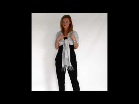 HOW TO TIE A PASHMINA SHAWL
