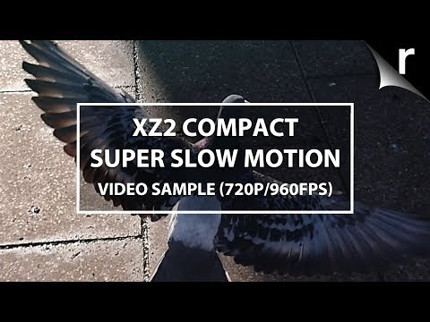 Sony Xperia XZ2 Compact super slow-motion video samples (720p/960fps)