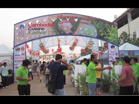 Cambodian cuisine festival organized by PSE NGO at Olympic Stadium