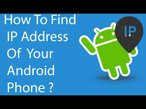 How to Quickly Find IP address Of Your Android Phone ?