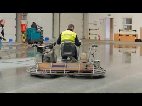 Superabrasive Trowel Shine Polishing System for Power Trowels