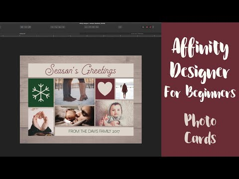 Create A Holiday Photo Card In Affinity Designer