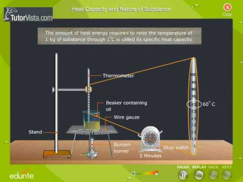 Heat Capacity and Nature Of Substance