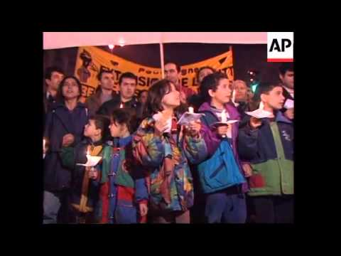 FRANCE: PARIS: IMMIGRANTS STAGE MARCH FOR PERMANENT RESIDENCY