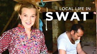 ISLAMPUR VILLAGE SWAT   Local life in Swat Pakistan Vlog