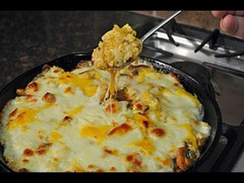 Recipe for Baked Cheesy Rice
