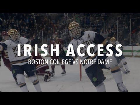 IRISH ACCESS - Notre Dame Hockey vs Boston College