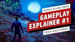 Population Zero: Gameplay Explainer #1 – Tech and Perks