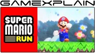 Super Mario Run - World 1-1 Up & Over Gameplay (iPad Demo)