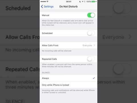 IPHONE - HOW TO BLOCK UNKNOWN CALLER