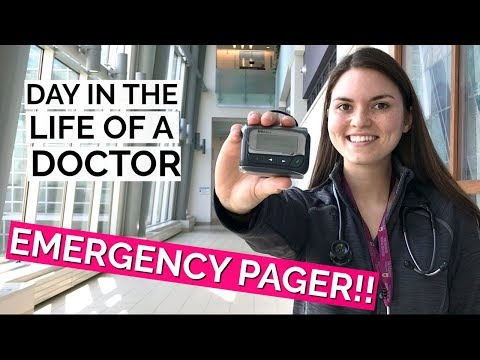 Day in the Life of a DOCTOR: EMERGENCY PAGER!
