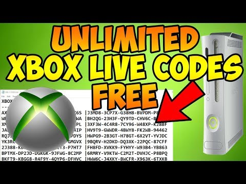 How to Get Unlimited Free Xbox Live Codes (October 2017) Latest Method!
