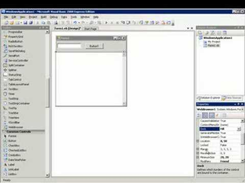 How to make a program with visual basic 2008