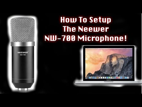 How To Set Up The Neewer NW-700 Condenser Microphone