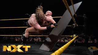 Killian Dain vs. Lars Sullivan - No Disqualification Match: WWE NXT, April 18, 2018