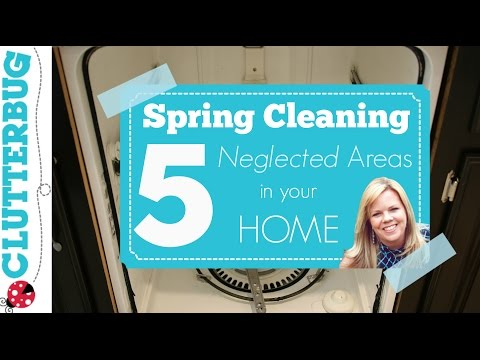 Spring Cleaning Routine - 5 Areas to Deep Clean in your Home
