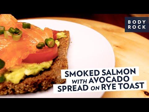 Smoked Salmon with Avocado Spread Recipe