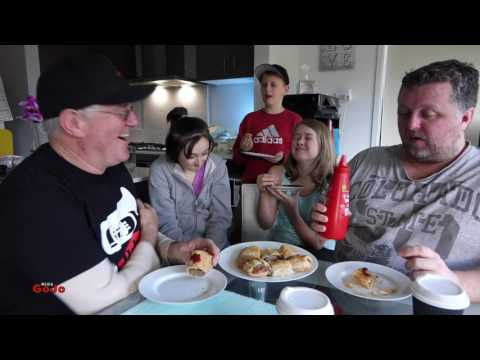 Pie and Mighty Bakery Sausage Rolls Review feat The GoJo Kids