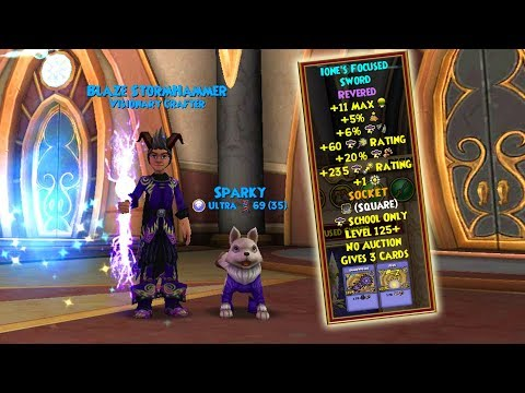 Wizard101: Revered Crafting! Arena Ticket-Only Reagent?