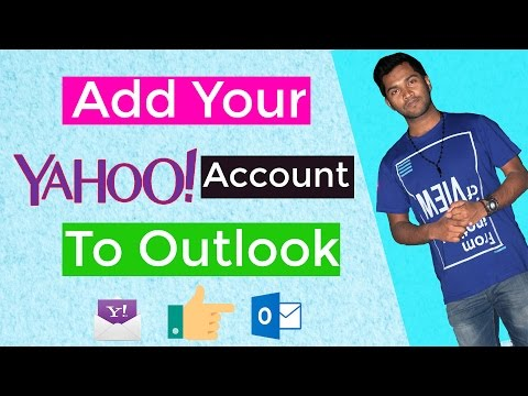 Add Your Yahoo Account to Outlook Using IMAP settings