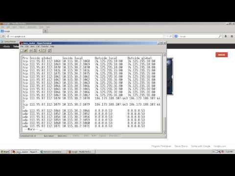Setting Konfigurasi Fastnet Dengan Router CISCO