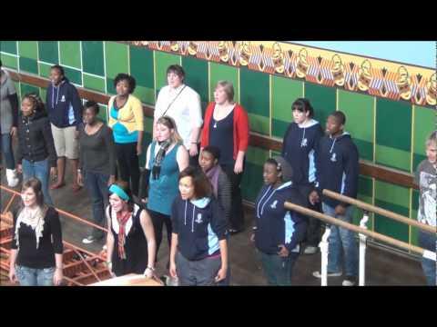 University of the Free State Choir - Gymnasium Hall, Kolmanskop, Namibia