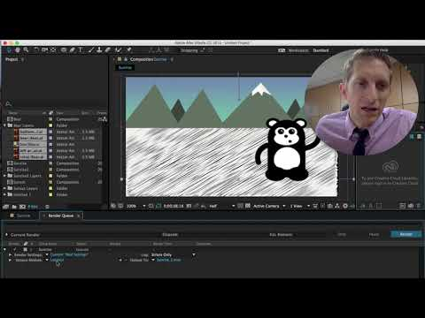 Rendering Videos in After Effects