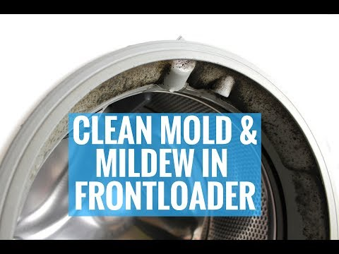 HOW TO CLEAN MOLD & MILDEW IN FRONTLOADER WASHER!