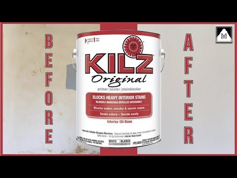 Use Kilz Primer for Best Stain Blocking Results Before Painting