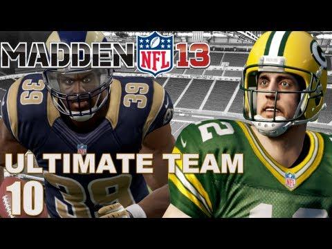 Madden 13 Ultimate Team :  Fantasy Football Team Revealed Ep.10