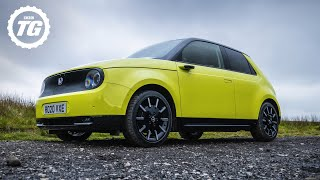 Chris Harris drives the Honda E: Is a 130 mile range enough? | Top Gear: Series 29