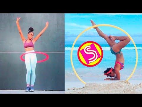 New Hula Hoop Dance Challenge | Top Skills Compilation 2018